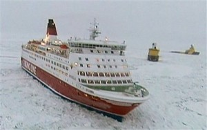SWEDEN FERRIES STUCK