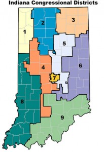 Moe Lane The New Indiana District Maps Are Out - Us-2011-congressional-district-map
