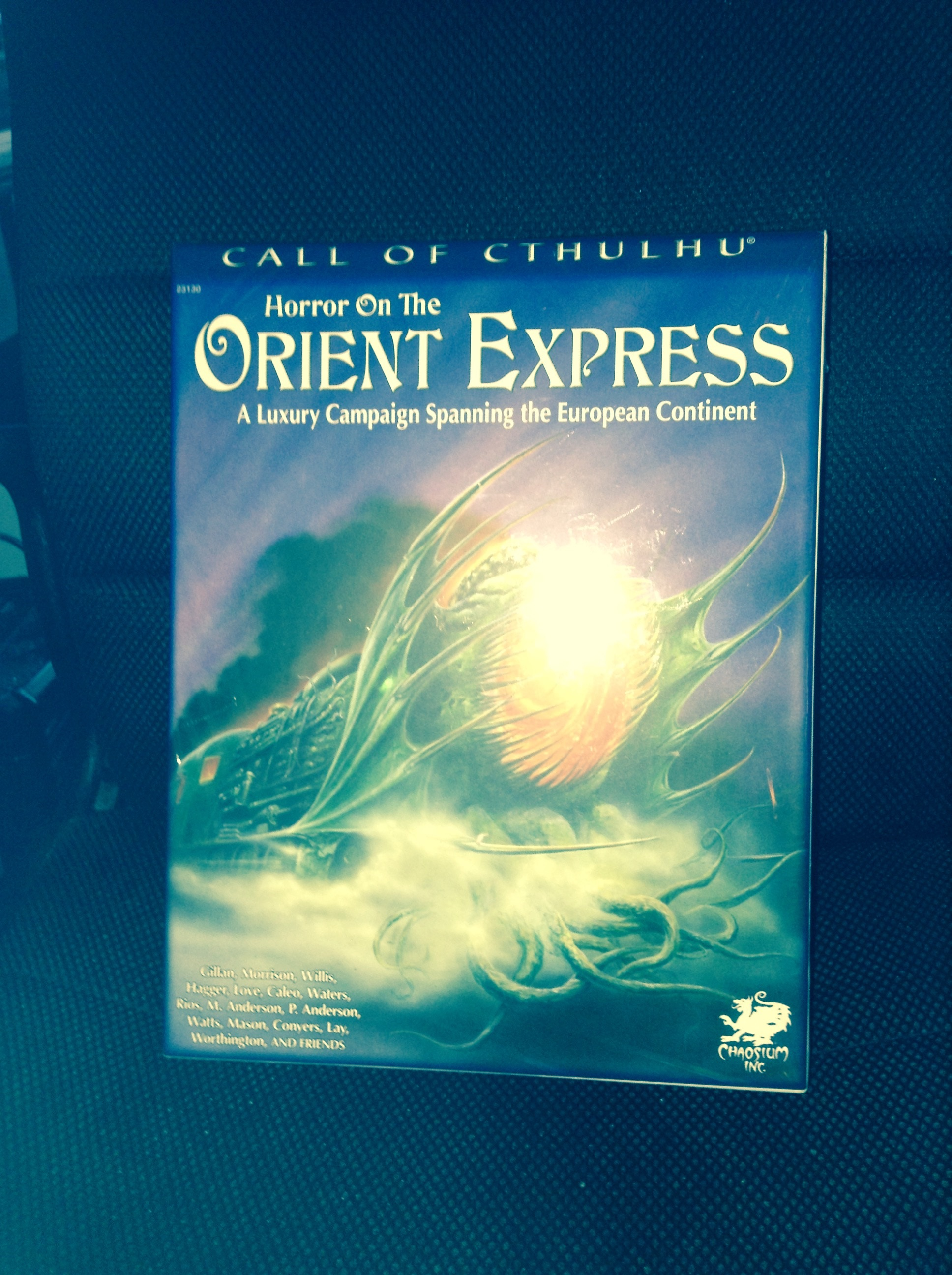 horror on the orient express pdf
